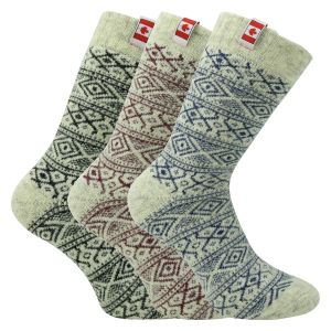 Thermo Wollsocken Canadian Style - 1 Paar