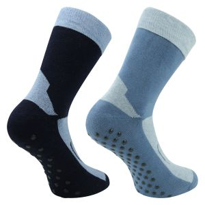 Homesocks ABS Socken blau-marine mix - 2 Paar
