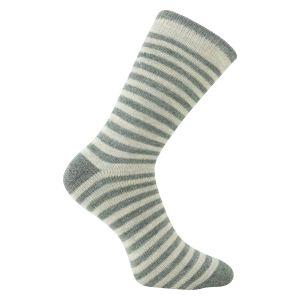 68f4790c8bec Alpaka-Wolle-Socken für Kinder mit Ringel - super weich - 2 Paar Bestseller