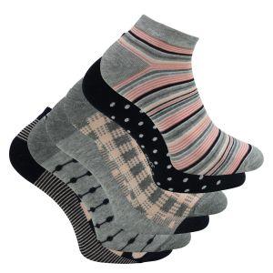 Sneaker Socken 6 Paar schwarz oder weiß 90/% gekämmte Baumwolle 35-38 39-42 43-46
