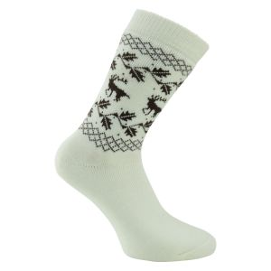 beige-braun-mix Norweger Socken Country Style - 2 Paar