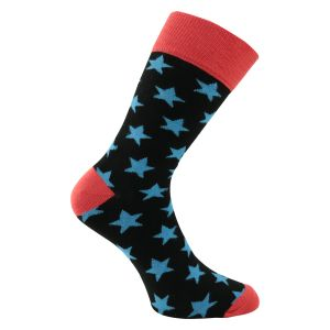 Bunte Herrensocken -Stars and Stripes- 4 Paar