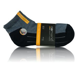 Camano Pro Tex Function Quarter Socken navy - 2 Paar