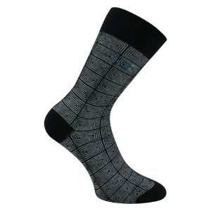 Grafik Style Herren Business Socken - 3 Paar