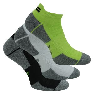 Herren Skechers Performance Sport Low Cut Bambus Sneakersocken mit SilverClear Technologie - 3 Paar
