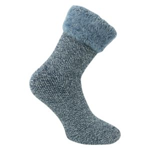 Damen HEAT Socken mit TOG Rating 3.5 marine melange Mega dick - 1 Paar