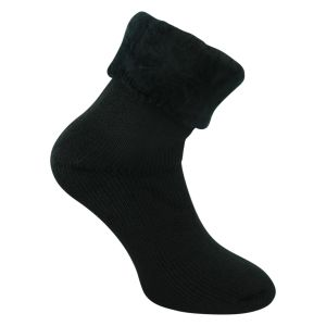 Herren Thermo HEAT Socken mega DICK schwarz - Tog Rating 3.5 - 1 Paar