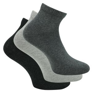 Quarter Socken grau-anthrazit-mix s.Oliver - 4 Paar