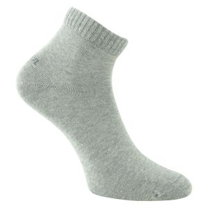 s.Oliver Quarter Socken grau anthrazit mix - 3 Paar