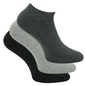 s.Oliver Sneakersocken anthrazit-grau-mix - 5 Paar