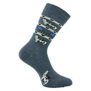 Socken Kuh Motive Fancy Style - 3 Paar