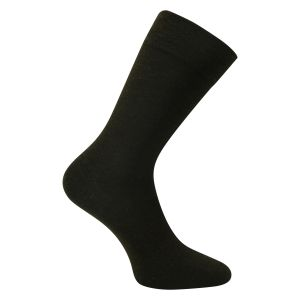 Braune Business Soft Wollsocken - 2 Paar