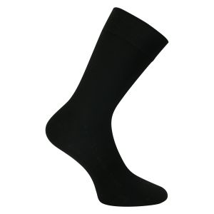 Business Wollsocken soft - schwarz - 2 Paar