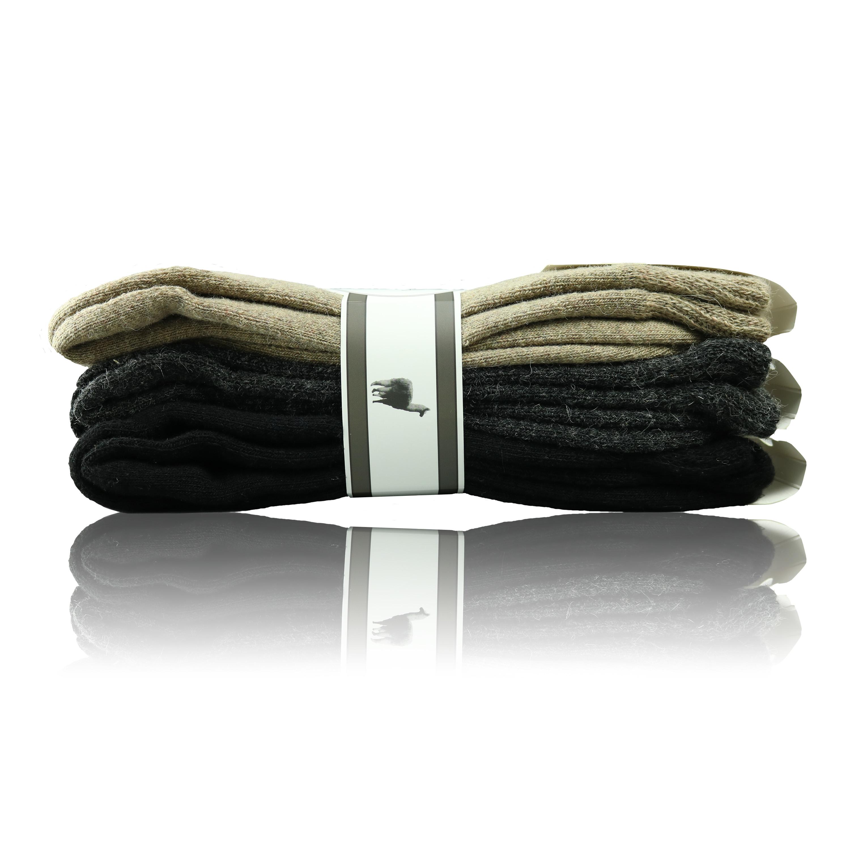 dicke socken mit alpaka wolle vollpl sch glatt. Black Bedroom Furniture Sets. Home Design Ideas